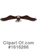 Bald Eagle Clipart #1616266 by Vector Tradition SM