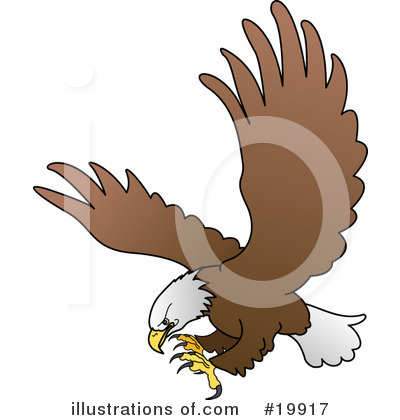 Bald Eagle Clipart #19917 by AtStockIllustration