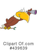 Royalty-Free (RF) Bald Eagle Clipart Illustration #439639