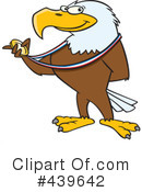 Royalty-Free (RF) Bald Eagle Clipart Illustration #439642