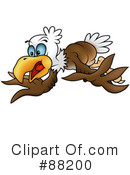 Bald Eagle Clipart #88200 by dero