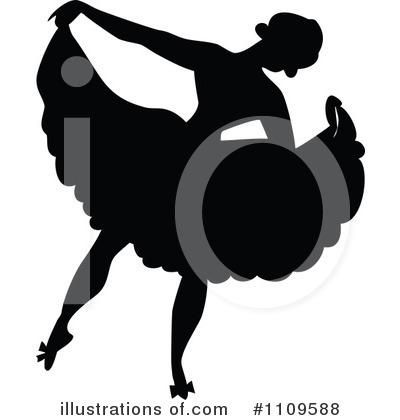 Ballet Clipart #1109588 by Prawny Vintage