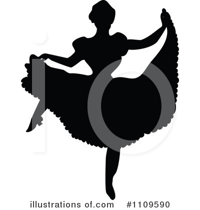 Ballet Clipart #1109590 by Prawny Vintage