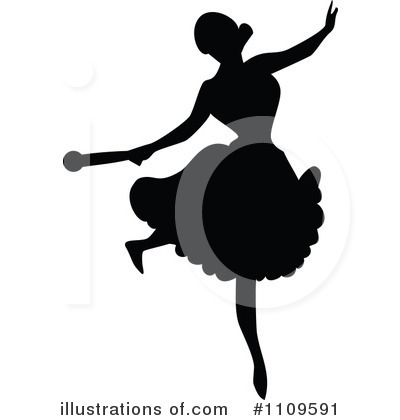Ballet Clipart #1109591 by Prawny Vintage
