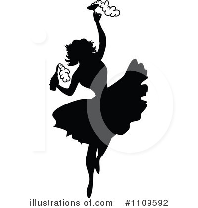Dancing Clipart #1109592 by Prawny Vintage