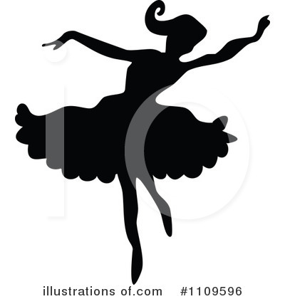 Ballet Clipart #1109596 by Prawny Vintage