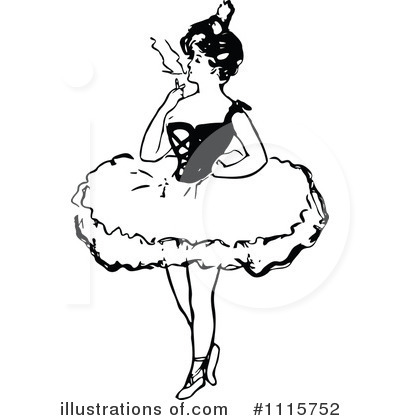 Ballet Clipart #1115752 by Prawny Vintage