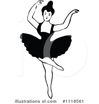 Ballet Clipart #1118561 by Prawny Vintage