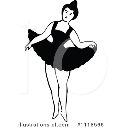 Ballet Clipart #1118566 by Prawny Vintage