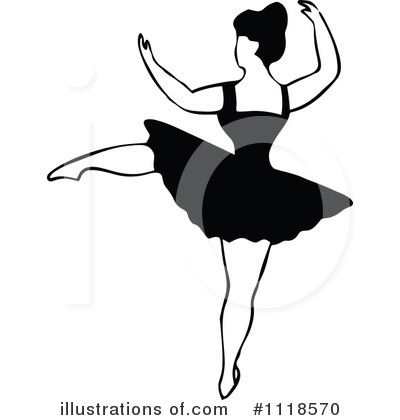 Ballet Clipart #1118570 by Prawny Vintage