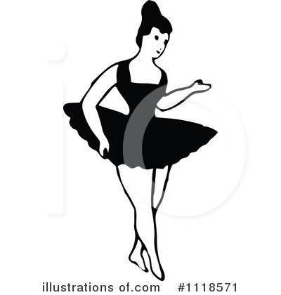 Ballet Clipart #1118571 by Prawny Vintage
