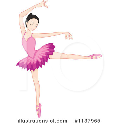 Ballerina Clipart #1137965 by Graphics RF