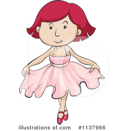 Royalty-Free (RF) Ballerina Clipart Illustration by Graphics RF - Stock Sample #1137966