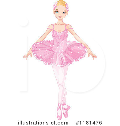 Ballerina Clipart #1181476 by Pushkin