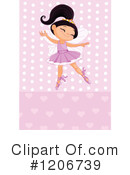 Ballerina Clipart #1206739 by Pushkin