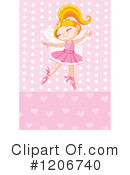 Ballerina Clipart #1206740 by Pushkin