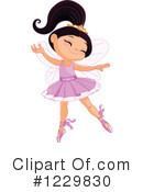 Ballerina Clipart #1229830 by Pushkin