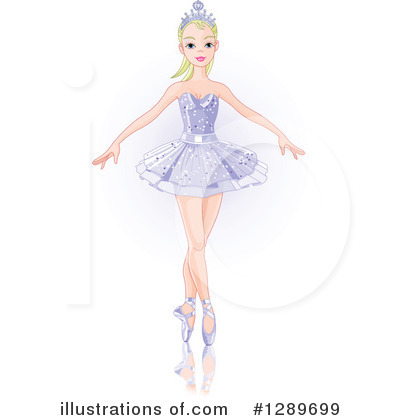 Ballerina Clipart #1289699 by Pushkin