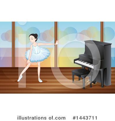 Ballerina Clipart #1443711 by Graphics RF