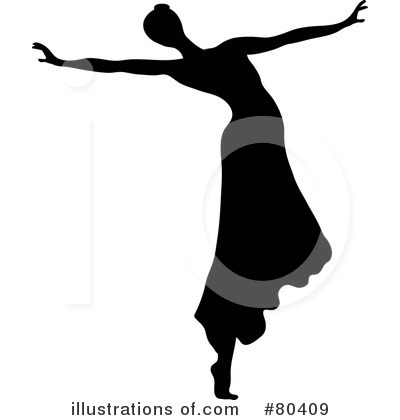 Dancer Clipart #80409 by Pams Clipart