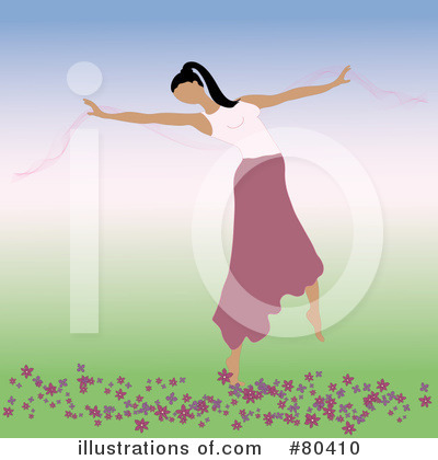 Dancer Clipart #80410 by Pams Clipart