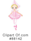 Ballerina Clipart #88142 by Pushkin
