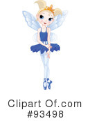 Ballerina Clipart #93498 by Pushkin