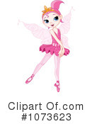 Royalty-Free (RF) Ballerina Fairy Clipart Illustration #1073623