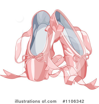 Ballet Slippers Clipart #1106342 by Pushkin