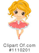 Royalty-Free (RF) Ballet Clipart Illustration #1110201