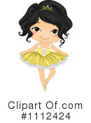 Royalty-Free (RF) Ballet Clipart Illustration #1112424