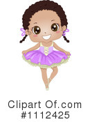 Royalty-Free (RF) Ballet Clipart Illustration #1112425