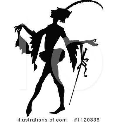 Royalty-Free (RF) Ballet Clipart Illustration by Prawny Vintage - Stock Sample #1120336