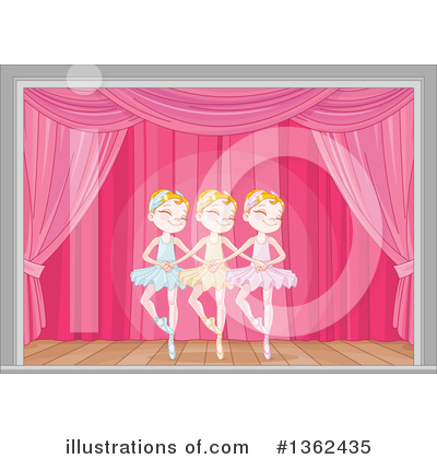 Ballerina Clipart #1362435 by Pushkin