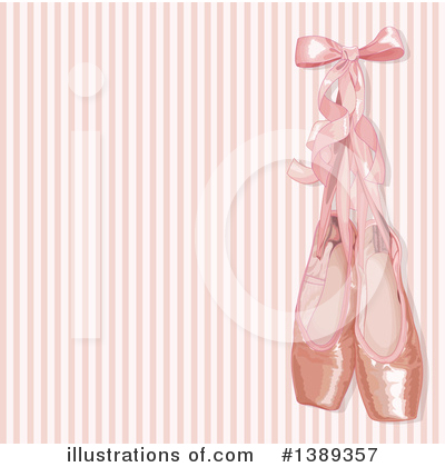 Ballet Slippers Clipart #1389357 by Pushkin