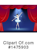 Ballet Clipart #1475903 by Graphics RF