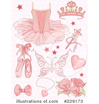 Ballet Slippers Clipart #229173 by Pushkin