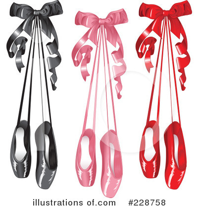 Ballet Slippers Clipart #228758 by Pushkin