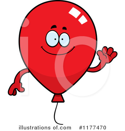 Balloon Clipart #1177470 by Cory Thoman