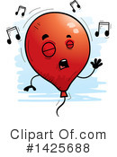 Royalty-Free (RF) Balloon Clipart Illustration #1425688