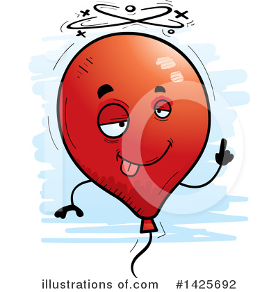 Balloon Clipart #1425692 by Cory Thoman