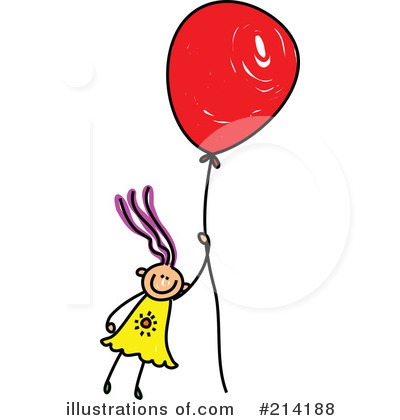 Royalty-Free (RF) Balloon Clipart Illustration by Prawny - Stock Sample #214188