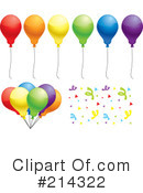 Balloon Clipart #214322 by Cory Thoman