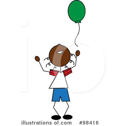 Balloons Clipart #98416 by Pams Clipart