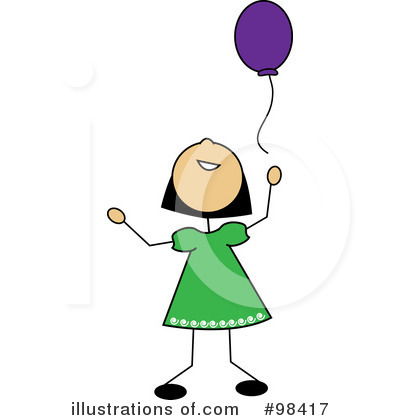 Balloons Clipart #98417 by Pams Clipart
