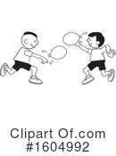 Balloon Fight Clipart #1604992 by Johnny Sajem