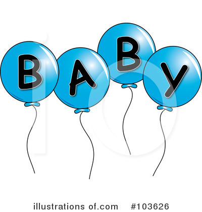 Balloons Clipart #103626 by Pams Clipart