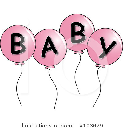 Balloons Clipart #103629 by Pams Clipart