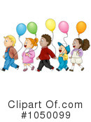 Balloons Clipart #1050099 by BNP Design Studio