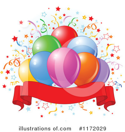 Birthday Party Clipart #1172029 by Pushkin